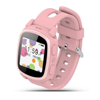 儿童智能电话手表触摸彩屏语聊闹钟上课禁用待机小孩学生 可触摸屏 双向通话 微聊 GPS定位