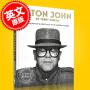 现货 埃尔顿・约翰 摄影集 狮子王主题曲演唱者 英文原版 Elton John by Terry O'Neill 特里・奥尼尔 **的肖像 未披露的照片