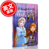 现货 冰雪奇缘2 永远的朋友 猜猜我是谁 英文原版 迪斯尼同名电影周边书 儿童纸板绘本 Disney Frozen 2