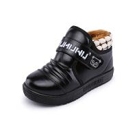 木木屋童鞋秋冬新款男童保暖鞋 韩版休闲鞋女童加厚加绒棉鞋