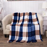 毛毯子珊瑚绒毯 空调秋冬被 法兰绒卡通儿童午睡盖毯 加厚双人法莱绒毯床单 冬季盖毯