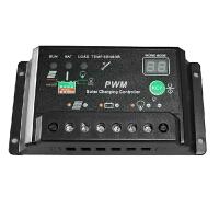 太阳能控制器12v24v30a 路灯系统控制器 光伏发电系统充电器 数码