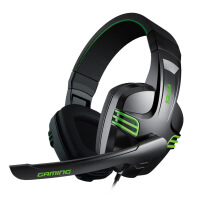 声籁 KX101 头戴式电脑游戏耳机 重低音 耳麦带话筒