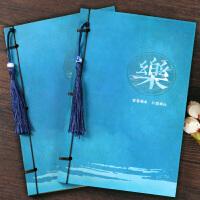 古风复古牛皮线装本子 中国风古典笔记本文具 创意学生手账本