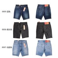 Levis李维斯 牛仔短裤男士修身小脚短裤五分休闲裤多色可选36515
