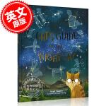 现货 一只猫的夜空观测指南 英文原版 A Cat`s Guide to the Night Sky 儿童绘本 太空 星