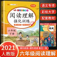 阅读理解六年级下册语文 人教版部编版六年级下语文课内外阅读理解强化训练