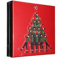 EXO-M专辑 十二月/12月的奇迹 CD 签名小卡 写真集 明信片 中文版