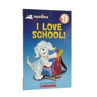 英文原版童书 Scholastic Reader, Level 1: Noodles - I Love School