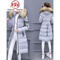 2018冬季新款韩版显瘦宽松时尚中长款棉衣外套女装潮羽绒棉袄