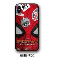 苹果xsmax手机壳xr红米k20漫威小米cc9保护套vivo蜘蛛侠8plus钢铁侠华为p30pro