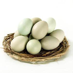【宜昌馆】湖北特产 五谷饲养绿壳土鸡蛋乌鸡蛋散养草鸡蛋30枚 破损包赔