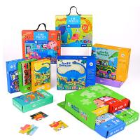 六一儿童节礼物!美乐儿童拼图纸质大拼板动物益智玩具0-3岁卡通创意宝宝幼儿拼图