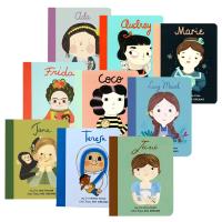 Little People Big Dreams 小人物大梦想系列之小女孩传记9册 英文原版纸板书 全英文版进口英语书籍