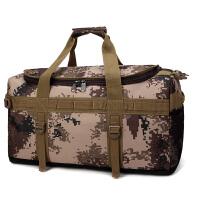 超大多功能旅行包手提男大容量行李袋女双肩包搬家大包迷彩户外包 大