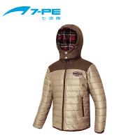 七波辉男童装 秋冬季男童保暖棉衣大衣 男小童保暖外套