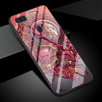 钢铁侠手机壳oppor15梦境版男女新款钢化玻璃漫威英雄电影美国队长黑寡妇欧美潮0pp0 r15标准