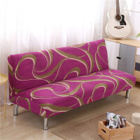 �f能全盖沙发床套简易折叠无扶手弹力沙发套罩布艺全包通用套子