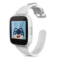 糖猫儿童电话手表GPS智能定位M1 通话手环学生手机插卡触摸屏 白