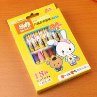 幼儿童油画棒12色18色24色宝宝彩色绘画无毒画笔美术学生蜡笔