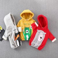 宝宝儿童保暖上衣婴儿外出服新生儿衣服