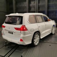 仿真雷克萨斯LX570汽车模型Lexus金属越野车合金轿车凌志模型摆件