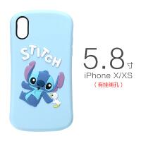 日本迪士尼iPhone xs max手机壳3D立体XR苹果XS硅胶防摔iPhone iPhoneX/XS 史迪仔 现货