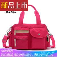 韩版款帆布包女包手提包单肩包斜挎包休闲尼龙牛津布女士包小包包