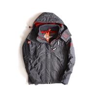 SUPERDRY/极度干燥  美国直邮男士深色连帽夹克早春款透气宽松套头运动外套外套夹克