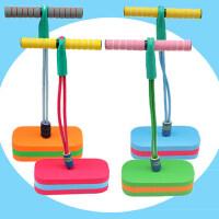幼儿园教学健身运动玩具 儿童青蛙跳有声弹跳鞋户外体育比赛器材