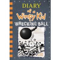 现货 小屁孩日记14 英文原版 杰夫・金尼 儿童漫画学生课外读物 精装 Wrecking Ball Diary of
