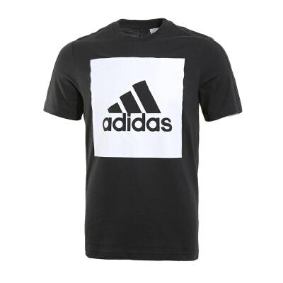 Adidas阿迪达斯 男子运动休闲短袖T恤 S98724 现男子运动休闲短袖T恤