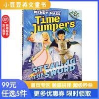 进口原版TIME JUMPERS#1 STEALING THE SWORD时空穿越者:偷剑7-10岁