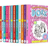 【首页抢券300-100】Dork Diaries Collection 多克日记12册套装 女版小屁孩朵拉 儿童英语章
