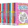 【首页抢券300-100】Dork Diaries Collection 多克日记12册套装 女版小屁孩朵拉 儿童英语章节书 桥梁书小说 儿童英文原版图书