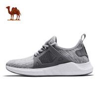 骆驼运动鞋男鞋 春季新款潮流轻便休闲鞋爆米花减震跑步鞋