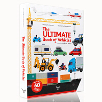 进口英文原版 汽车立体书交通工具机关操作书The Ultimate Book of Vehicles: From Ar