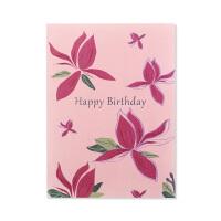 祝福卡 贺卡 玉兰花系列 生日卡Birthday card JC-Bth011