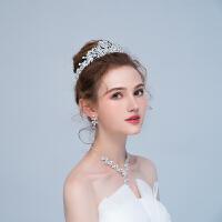 皇冠头饰新娘结婚婚纱礼服配饰森系仙美公主发饰头冠