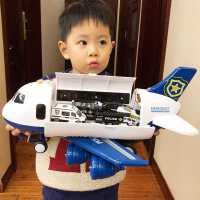 儿童玩具飞机小男孩男童4岁3宝宝大号超大耐摔益智多功能玩具车