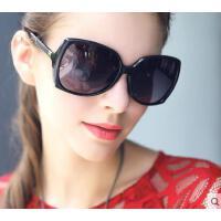 户外新款太阳镜女潮 开车偏光大框圆脸墨镜女款防紫外线太阳眼镜欧美个性