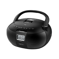 PANDA/熊�CD-50英�ZCD播放�CCD磁�б惑w�C�妥x�C可放光碟播放器大功率多功能�W生卡式收��音面包�CDVD�C