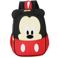 卡通米奇幼儿园书包-岁女宝宝男童潮帆布儿童书包可爱双肩背包