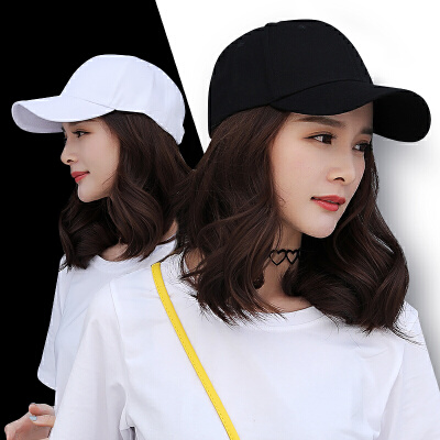 帽夏天韩版休闲百搭潮人学生街头白色帽子黑色女士鸭舌帽纯色
