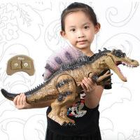 儿童大号恐龙玩具喷雾霸王龙电动遥控仿真动物模型男孩玩具