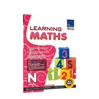 SAP Learning Maths N 新加坡数学 学习系列幼儿园练习册 3-4岁 小班 新亚出版社教辅 儿童英文原