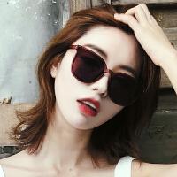 太阳镜女潮网红墨镜个性圆脸眼镜偏光镜