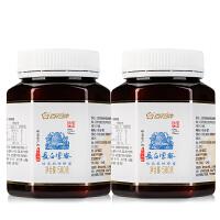 中华老字号 百花牌长白雪蜜580g*2瓶 天然纯农家自产椴树结晶蜂蜜