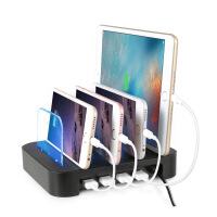 多功能充�收�{支架多口USB充�器底座架子手�C充�收�{架立式架