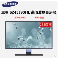 【支持礼品卡支付】Samsung/三星 S24E390HL 黑色高清23.6英寸显示器另有S24E360HL白色